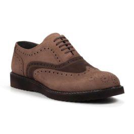 Muške cipele - Casual - Z-01 - Braon sa tamno braon detaljima