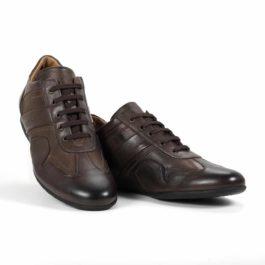Muške cipele - Veliki brojevi - 2026G - Tamno braon