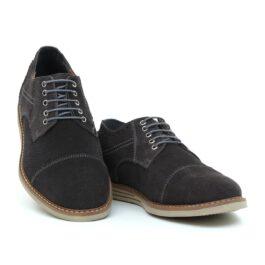 Muške cipele - Casual - 733-11 - Tamno siva
