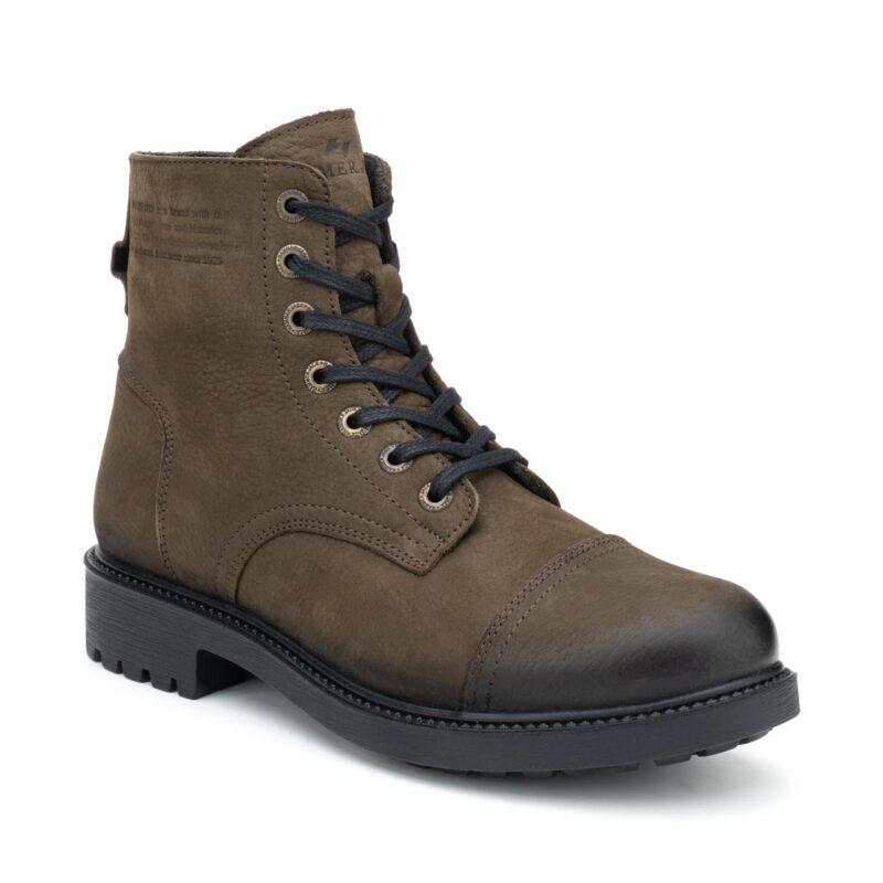 Muške cipele - Duboke - Hammer Jack 102 18350-MN - Maslinasto zelena
