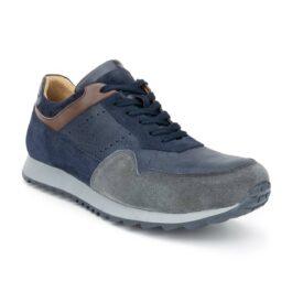Muške cipele - Veliki brojevi - 4889G - Teget