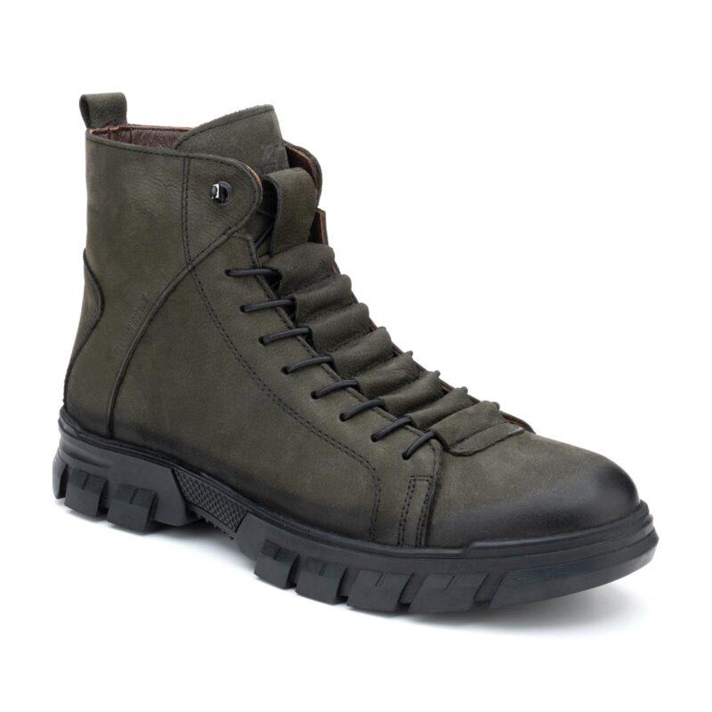 Muške cipele - Duboke - Hammer Jack 102 20725-MN - Maslinasta