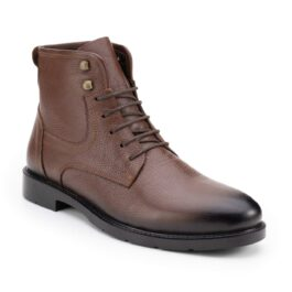 Muške cipele - Duboke - 5051P - Tamno braon